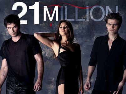 We're 21 millions